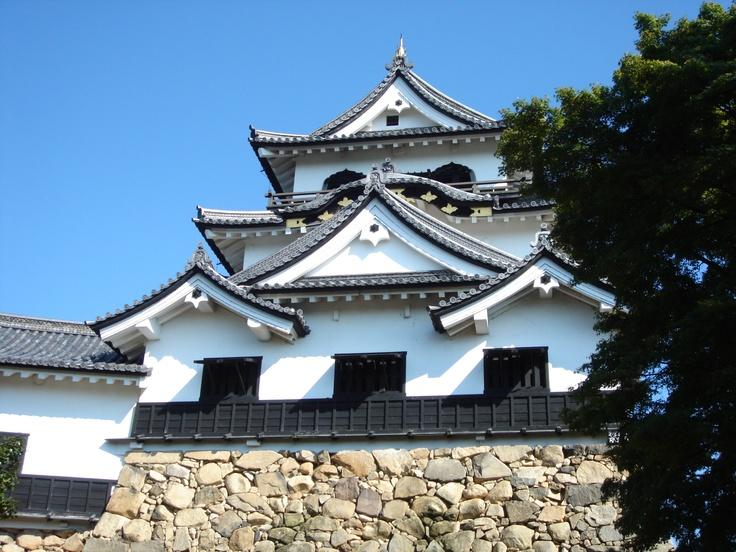 NAGAHAMA castle,Shiga pref,JAPAN.