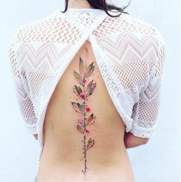 Cette sublime plante. | 30 tatouages floraux parfaits pour le printemps