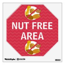 Wall Decal Nut Free Area Signs Many styles. Nut free area signs, allergy alerts. www.lilallergyadvocates.com