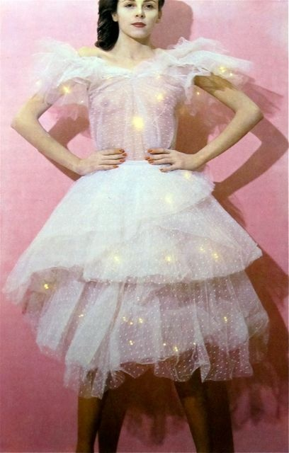 "Cinzia Ruggeri  Evening dress with insertion of LEDs  ca. 1980s    All images from:  ""The Hot House: Italian New Wave Design""  Andrea Branzi  The MIT Press  1984 // MONDOBLOGO"