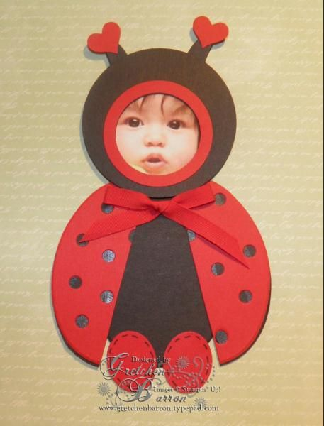 Baby Bubbles -- ladybug by gbarron - Cards and Paper Crafts at Splitcoaststampers