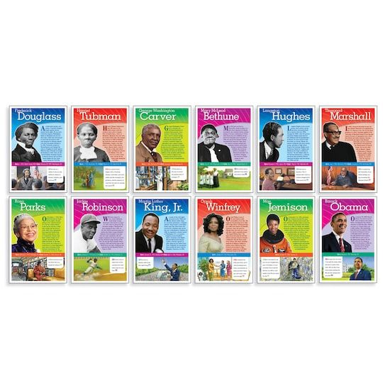 Scholastic® Teaching Resources Notable African Americans Bulletin Board