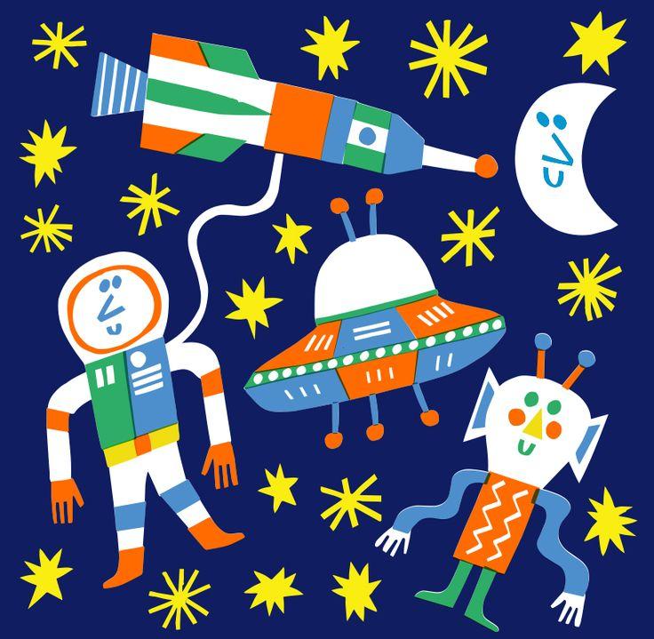 Spaceman & Friend