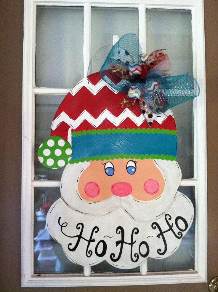 Santa door hanger Best 7277 Ho Ho