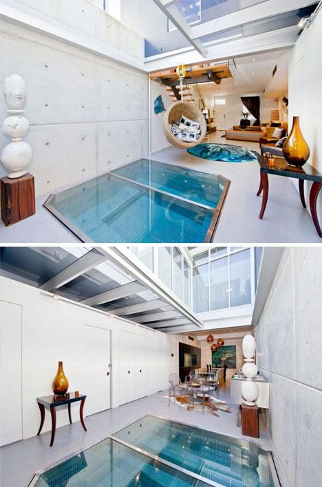 Indoor Pools Conjure Images Of Giant Rooms Dedicated To Swimming, Or  Bathroom Sauna And