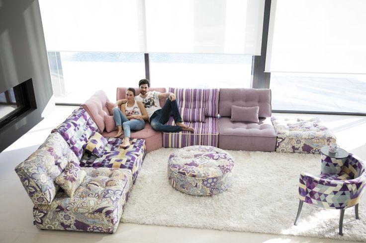 sofa FAMA modelo ARIANNE visita la tienda FAMALIVING en EUROPOLIS, sofa moderno y versatil