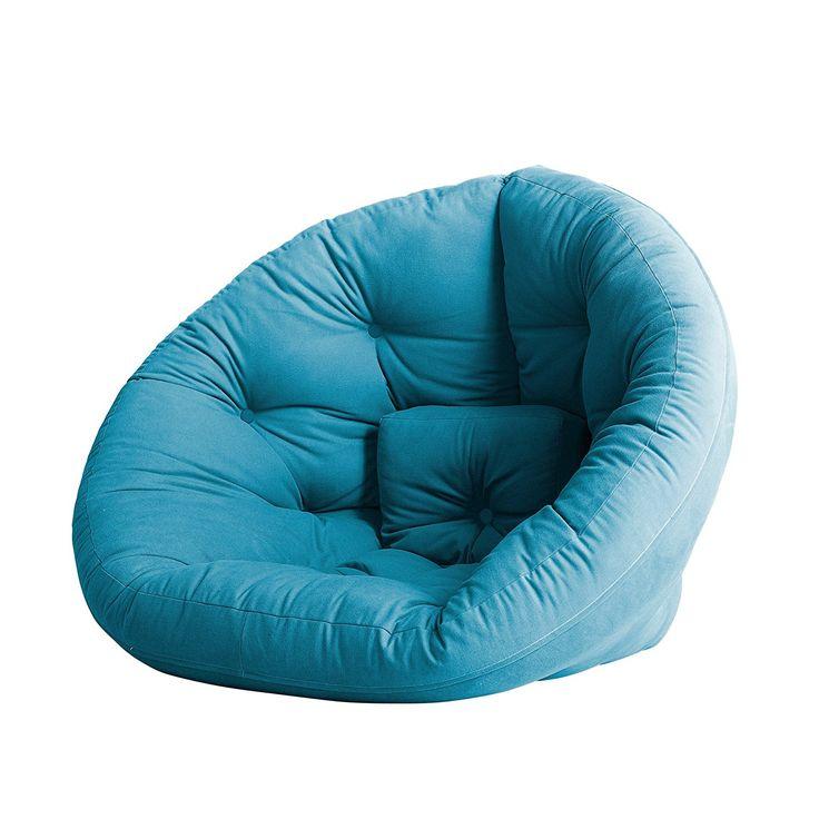 Amazon.com: Fresh Futon Nido Convertible Futon Chair/Bed Mattress, Lime: Kitchen & Dining