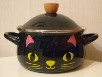 クロネコ KURONEKO 両手鍋
