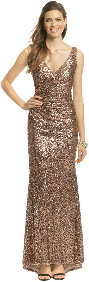 Mark & James by Badgley Mischka Crystal Pop Gown on shopstyle.com