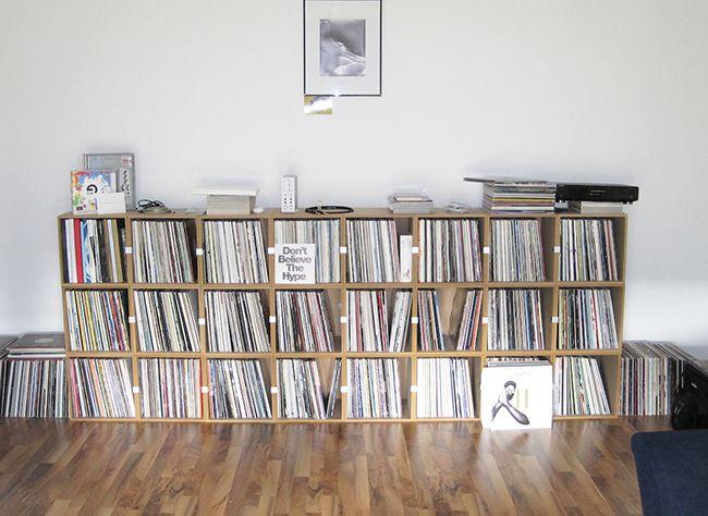 Schallplattenregal aus MDF #schallplattenregal #stocubo