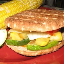 California Grilled Veggie Sandwich | Must eat | Pinterest | Veggies ...