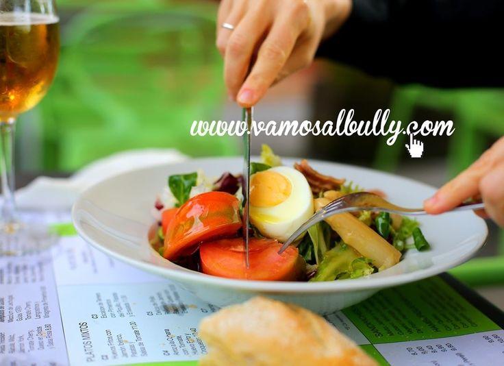 El tiempo acompaña... Una ensalada para comer? #vamosalbully #Donostia #SanSebastian