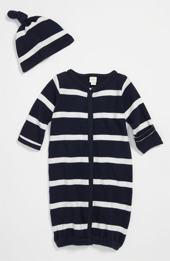 newborn+going+home+gown | Nordstrom Baby Convertible Gown & Hat. Need a going home outfit for ...