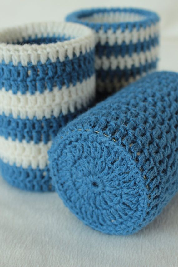 Fancy Crochet Beer Koozie Pattern Composition Blanket Knitting