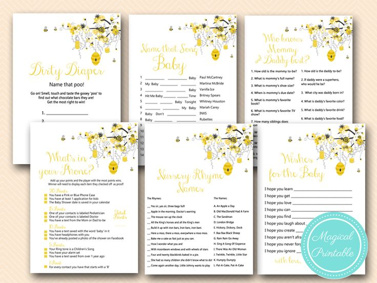 What Will It Bee Themed Baby Shower Ideas Decorations For Gender Reveal Party Mommy