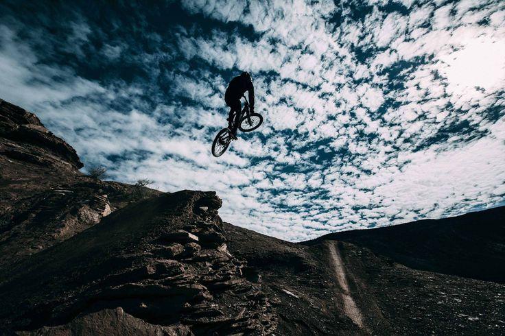 Freeride Mountain Biking #moncler #passionforsport