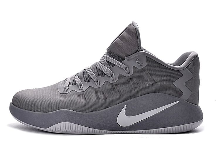 Nike Hyperdunk 2016 Low Chaussures Nike Basketball Pas Cher Pour Homme gris