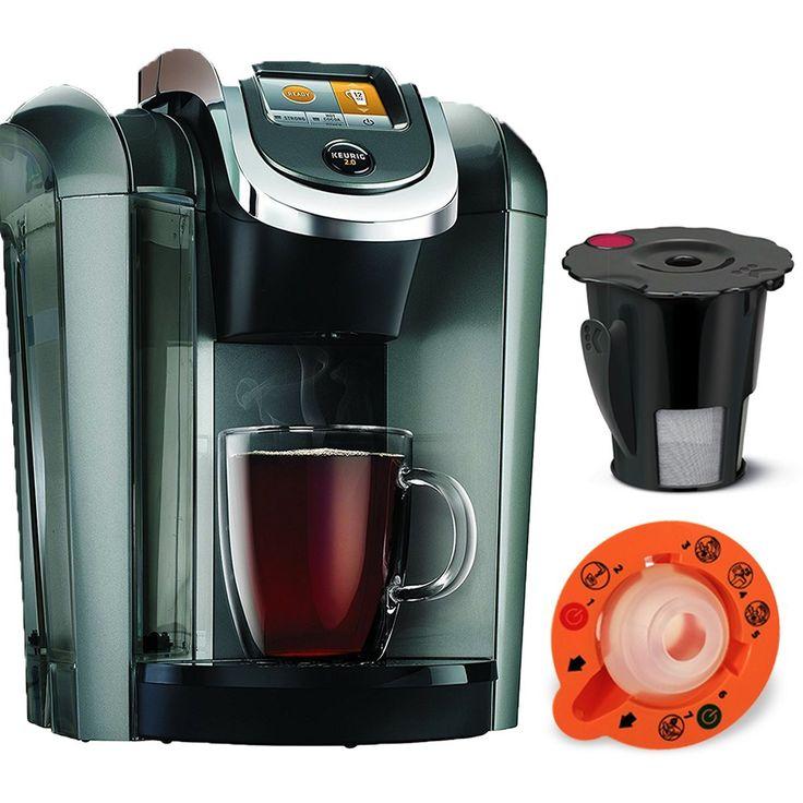 Keurig K545 Plus, Coffee Maker Single Serve 2.0 Brewing