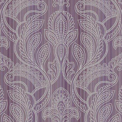 "Found it at Wayfair - VIntage Damask 32.7' x 20.5"" Thin Stripe with Paisley Wallpaper"