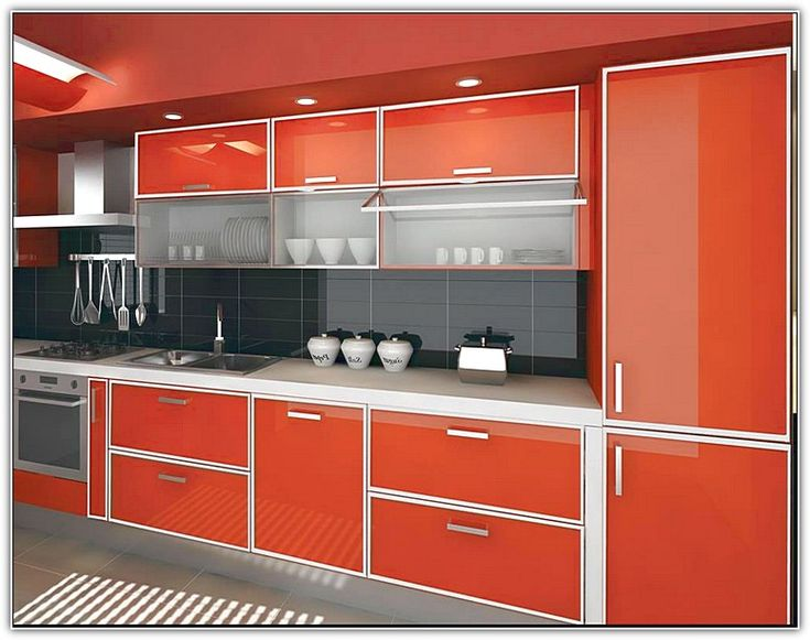 aluminum kitchen cabinets - maybe better than a laminate