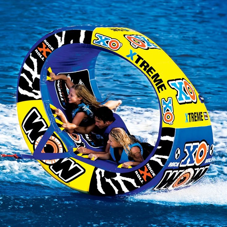 This looks like a ton of fun - the Triple Rider : XO Xtreme - World Of Water Sports