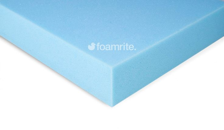 Upholstery foam sheets available online at foamrite.co.uk. Choose from soft, medium and firm firmness, and standard or superior grades. Use as replacement sofa cushions, headboard foam and for many other upholstery needs