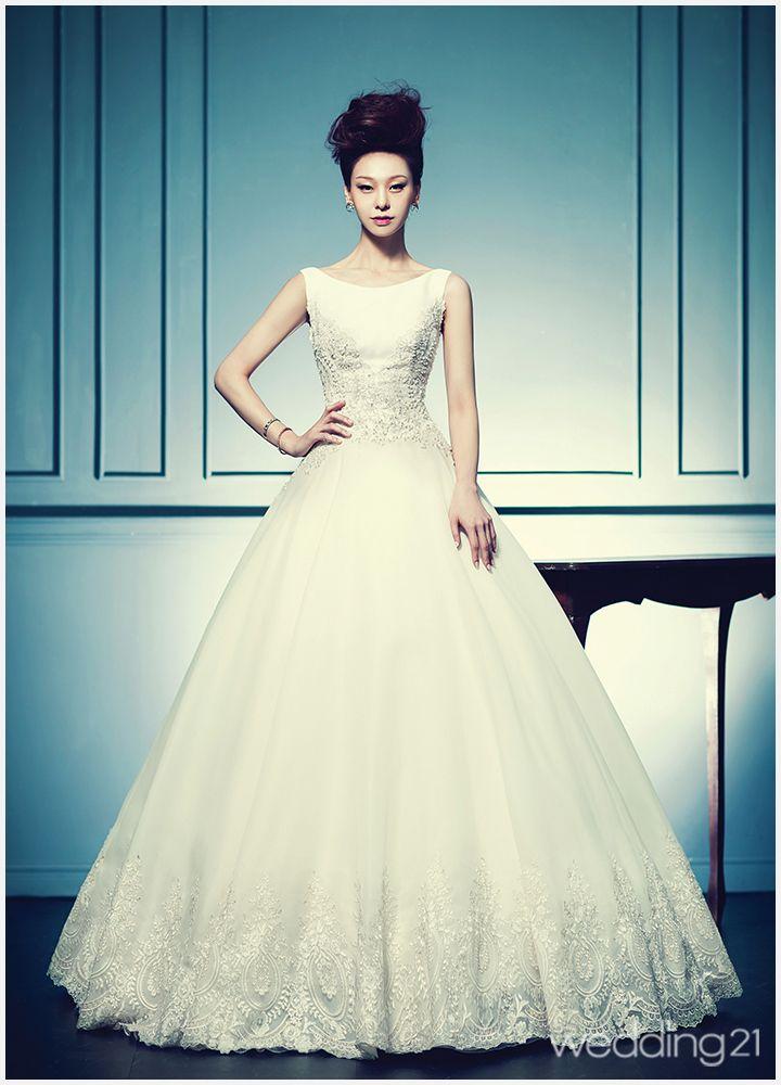 90 besten 웨딩드레스 Bilder auf Pinterest   Hochzeitskleider ...