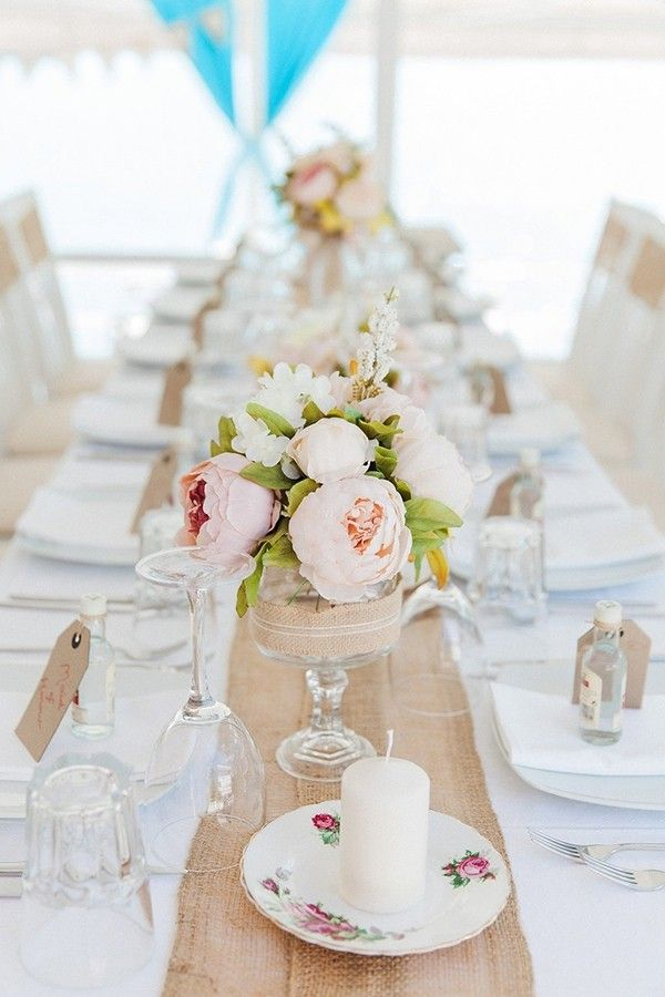 vintage beach wedding in lefkada wedding decorations wedding rh pinterest com