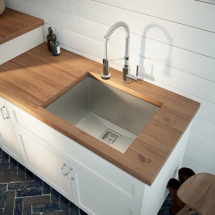 Pax 24 X 19 Undermount Kitchen Sink Undermount Kitchen Sinks