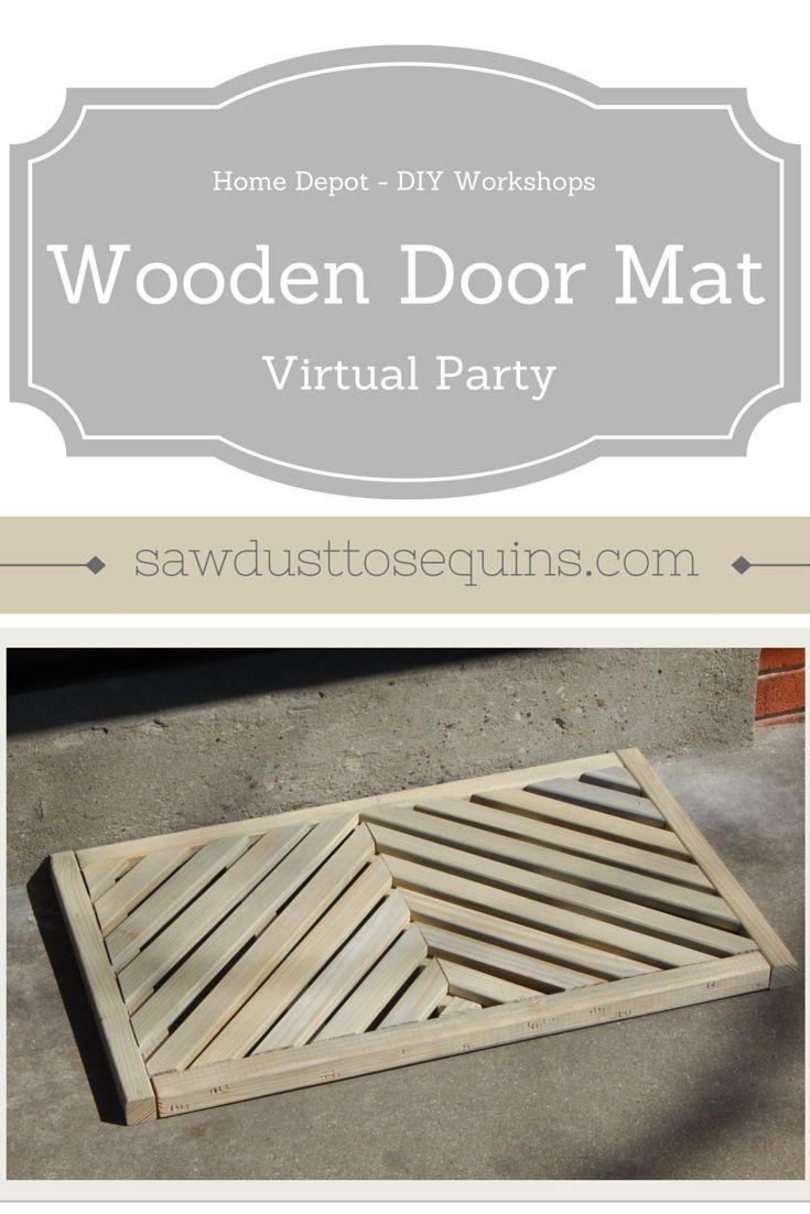 20 best Wood Door Mat images on Pinterest   Doormats, Door rugs and ...