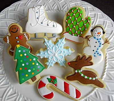 Sugar cookies with icing are my faves!: Cookies Ideas, Christmas Time, Sugar Cookies, Christmas Cookies, Decor Cookies, Holidays, Cookies Christmas, Christmas Ideas, Cookies Inspiration