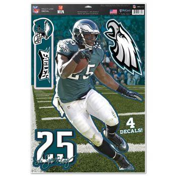Philadelphia Eagles LeSean McCoy Decal 11x17 Multi Use Z157-3208579087