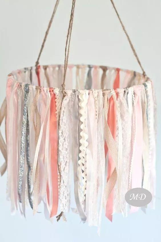 banderines guirnaldas de tela tiras linea romantica!!