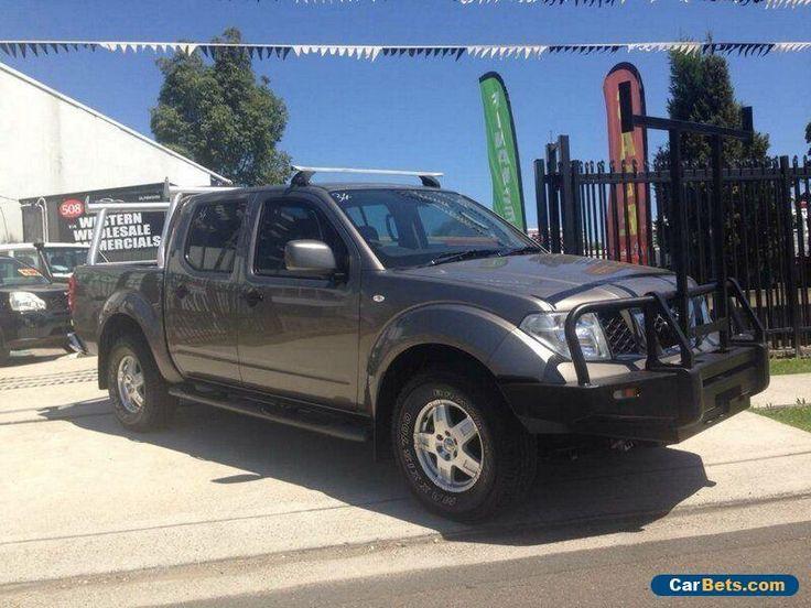 2012 Nissan Navara D40 ST (4x4) Grey Manual 6sp M Dual Cab Pick-up #nissan #navara #forsale #australia