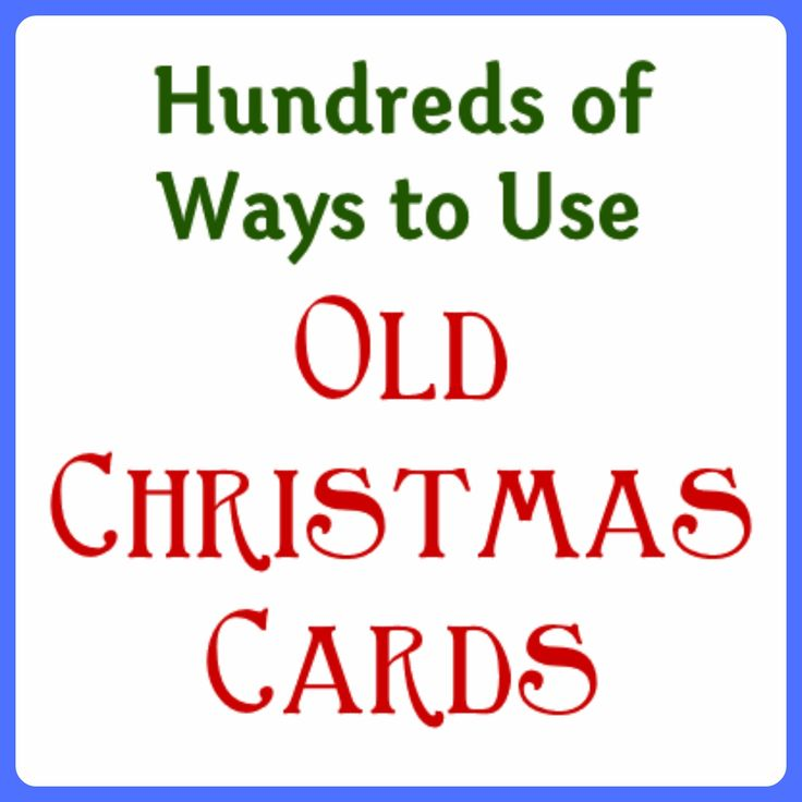 Outstanding Recycled Christmas Cards Crafts Sketch Christmas