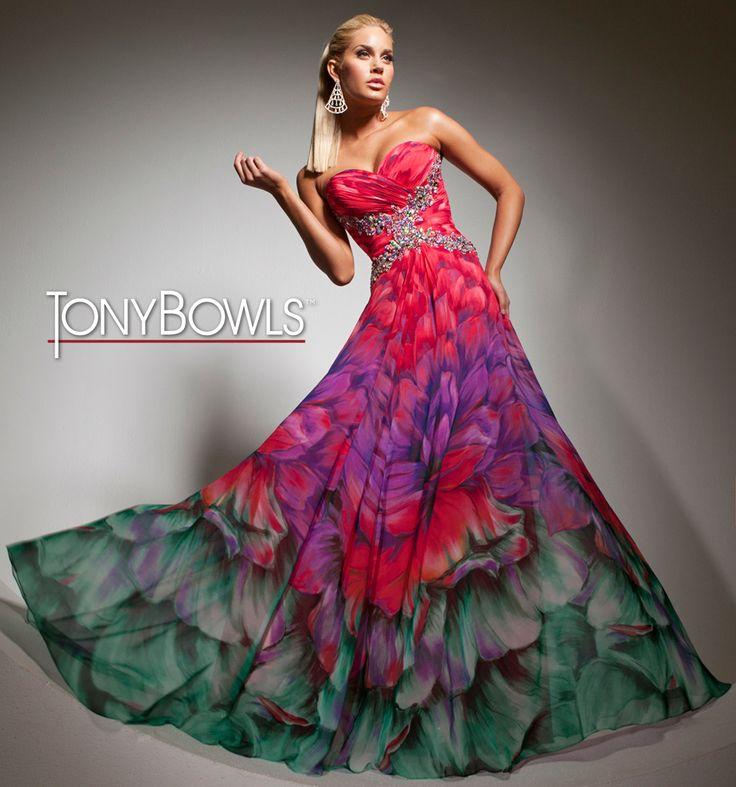 Tony Bowls Paris  »  Style No. 113707A  »  Tony Bowls Prom 2013 available at Binns of Williamsburg