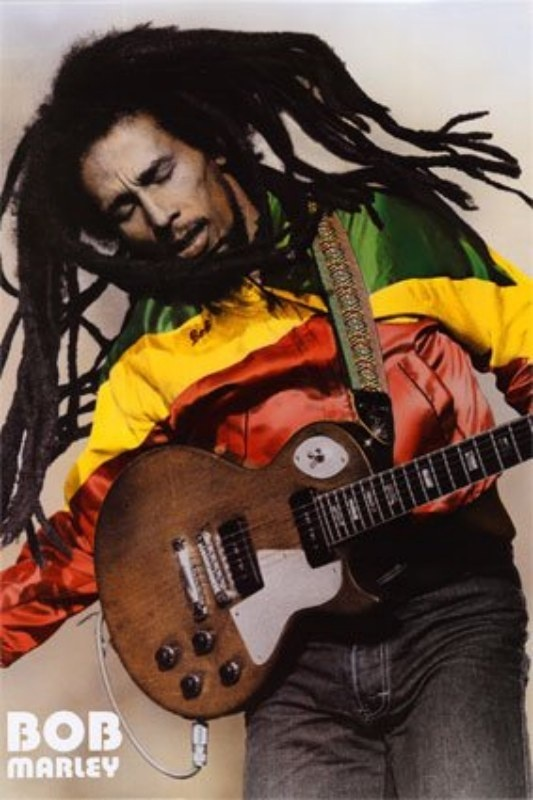 Bob Marley, I use to have this photo hanging in my many apartments in my younger days.
