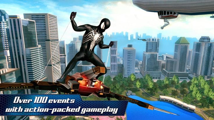 ANDROID FIZZY: The Amazing Spider-Man 2 1.1.0 MOD APK+DATA (OFFLI...