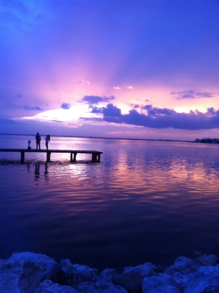 Amazing sunset in Cancun Mexico 37