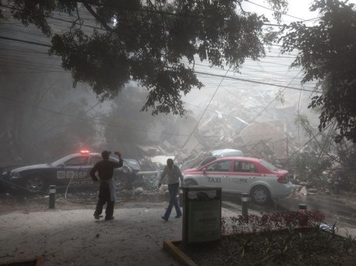 Fortissimo Terremoto Oggi in Messico: M7.1 a Puebla, morti anche nella Capitale