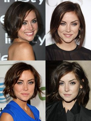 officially obsessed. Jessica Stroup short hair