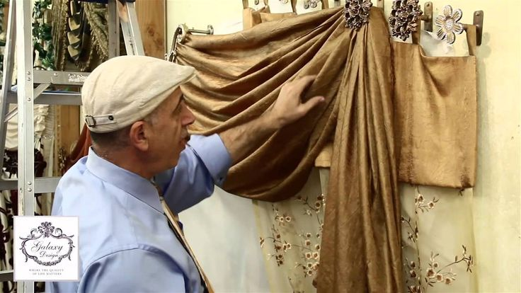 Video #13: Do It Yourself Drapes   Window Treatment Ideas With Swags, Scrolls and Holdbacks