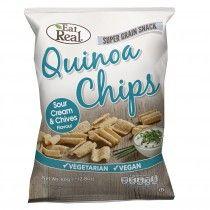 Eat Real Quinoa Chips Tejfölös és Snidlinges ízesítésű 80g