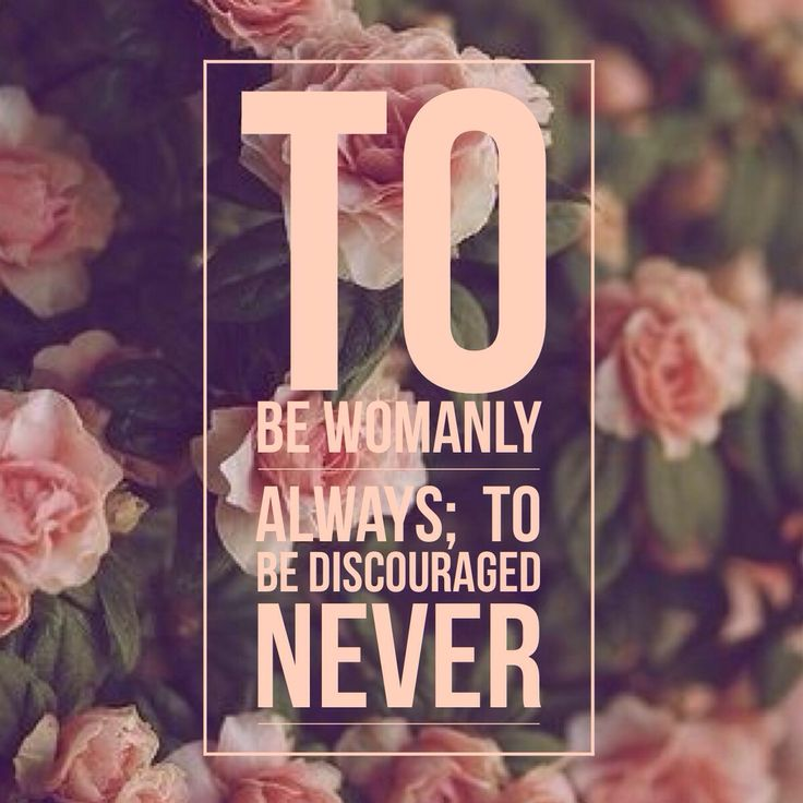 Chi Omega Symphony: To be womanly always, to be discouraged never.