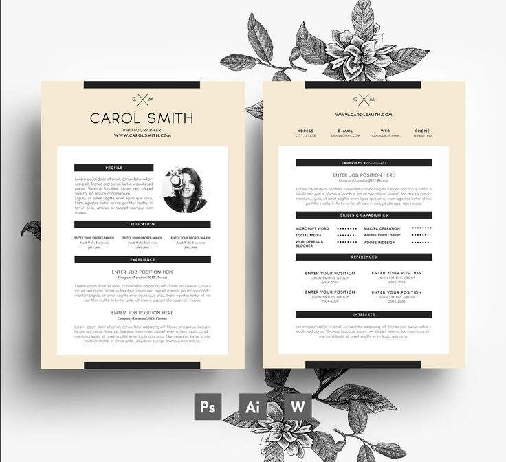33 best Stylish Resumes images on Pinterest Spaces, Words and - resume scanner