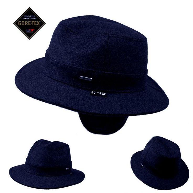 Sombrero orejera goretex azul