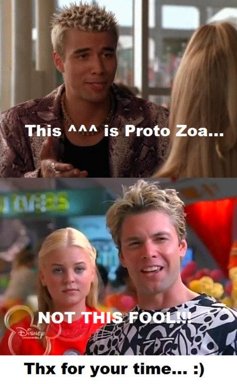 Loved zenon and protozoa! lol... hate to say but I said the same thing! Although now I'm okay with the newer one, I still felt like he was misplaced.