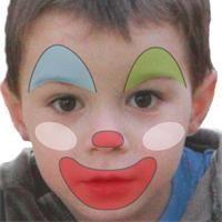 maquillage enfant clown tuto maquillage enfant loisirs. Black Bedroom Furniture Sets. Home Design Ideas