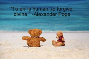 Forgiveness Quote by Alexander Pope. Check out more forgiveness quotes by clicking through : D.