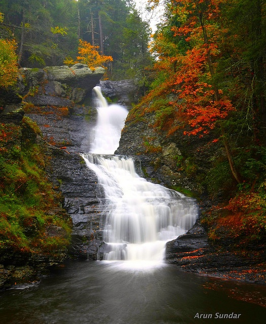Places To Camp Pa: This Photo Was Taken On October 7, 2009 In Digmans Ferry
